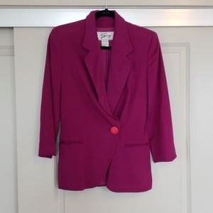 Vintage Purple Blazer